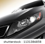 wide angle shot of car... | Shutterstock . vector #1131386858