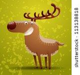 Funny Deer  Vector 05