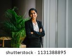 portrait of a young indian... | Shutterstock . vector #1131388895