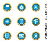 browsing icons set. flat set of ... | Shutterstock .eps vector #1131390446