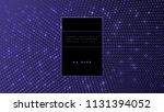 abstract binary code technology ... | Shutterstock .eps vector #1131394052