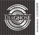 diagnose silvery emblem | Shutterstock .eps vector #1131403898
