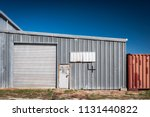 Silver Corrugated Metal...