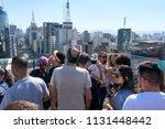 sao paulo  brazil  july  2018.  ... | Shutterstock . vector #1131448442