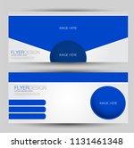 flyer banner or web header... | Shutterstock .eps vector #1131461348