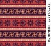 seamless vector decorative... | Shutterstock .eps vector #1131471266