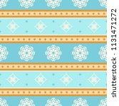 seamless vector decorative... | Shutterstock .eps vector #1131471272