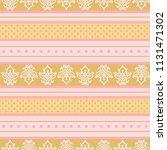 seamless vector decorative... | Shutterstock .eps vector #1131471302