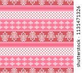 seamless vector decorative... | Shutterstock .eps vector #1131471326