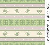 seamless vector decorative... | Shutterstock .eps vector #1131471512