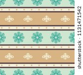 seamless vector decorative... | Shutterstock .eps vector #1131471542