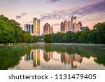 atlanta  georgia  usa midtown...   Shutterstock . vector #1131479405
