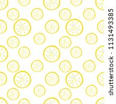 banana pattern download. summer ... | Shutterstock .eps vector #1131493385