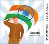 india independence day  a... | Shutterstock .eps vector #1131500612
