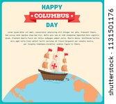 illustration vector of happy... | Shutterstock .eps vector #1131501176