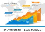 infographic template for... | Shutterstock .eps vector #1131505022