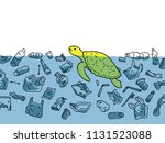 vector illustration of sea... | Shutterstock .eps vector #1131523088
