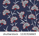 paisley all over  flowers... | Shutterstock .eps vector #1131526865