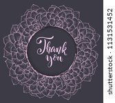 floral background. hand drawn...   Shutterstock .eps vector #1131531452