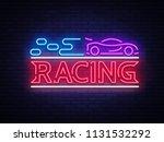 racing sign vector design... | Shutterstock .eps vector #1131532292