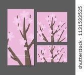 business cards template design... | Shutterstock .eps vector #1131533525
