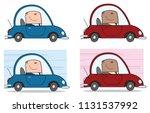 businessman cartoon character... | Shutterstock . vector #1131537992
