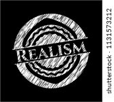realism chalkboard emblem... | Shutterstock .eps vector #1131573212