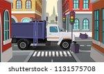 vector city crossroads with...   Shutterstock .eps vector #1131575708