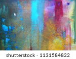 abstract watercolor paint... | Shutterstock . vector #1131584822