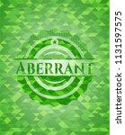 aberrant green mosaic emblem   Shutterstock .eps vector #1131597575
