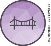 bridge  suspension  rope   Shutterstock .eps vector #1131598598
