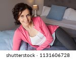 beautiful middle age woman... | Shutterstock . vector #1131606728
