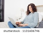 beautiful middle age woman...   Shutterstock . vector #1131606746