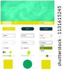dark blue  green vector design...