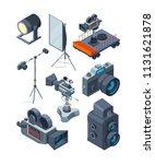 photo video cameras. various... | Shutterstock .eps vector #1131621878