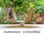 portfolio management and asset... | Shutterstock . vector #1131625862