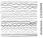 black line wave vector... | Shutterstock .eps vector #1131630698