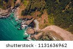 aerial top view of a stunning... | Shutterstock . vector #1131636962