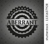 aberrant realistic black emblem   Shutterstock .eps vector #1131637928