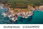 aerial view of a rocky seacoast ... | Shutterstock . vector #1131639092