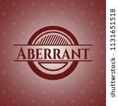 aberrant badge with red...   Shutterstock .eps vector #1131651518