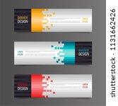 horizontal gradient color... | Shutterstock .eps vector #1131662426