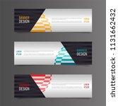 horizontal gradient color... | Shutterstock .eps vector #1131662432