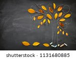 back to school concept. top... | Shutterstock . vector #1131680885
