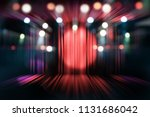 blurred theater stage with red... | Shutterstock . vector #1131686042