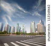 cityscape of modern city... | Shutterstock . vector #113168662