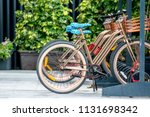 bike rental service for... | Shutterstock . vector #1131698342