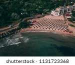 aerial view of a beautiful... | Shutterstock . vector #1131723368