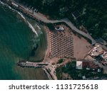 aerial top view of a beautiful... | Shutterstock . vector #1131725618