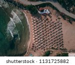 aerial top view of a small... | Shutterstock . vector #1131725882